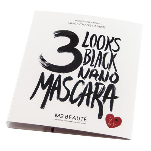 3 Looks Black Nano Mascara 1,5 ml